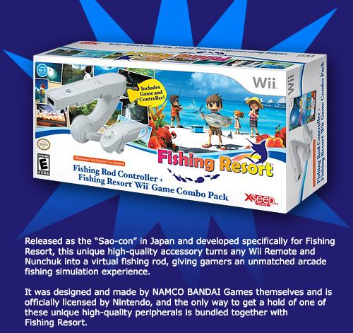 Fishing Resort New Trailer Wii Xseed Prope Open World